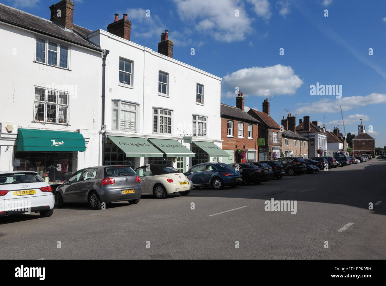 High Street, Amersham, Buckinghamshire - Stock Image