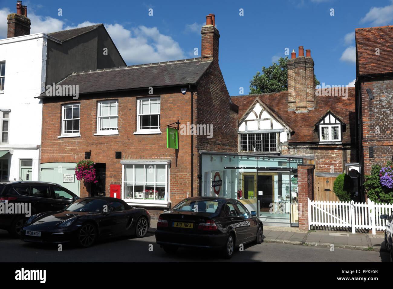Amersham Museum, High Street, Amersham, Buckinghamshire - Stock Image