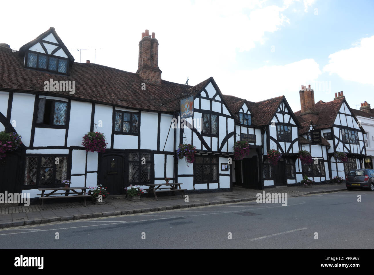 King's Arms Hotel, High Street, Amersham, Buckinghamshire - Stock Image
