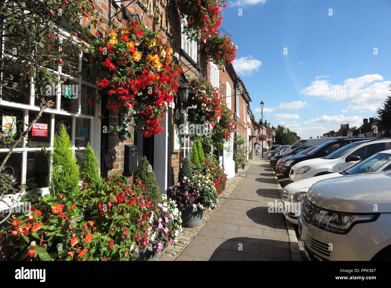 The Eagle, High Street, Amersham, Buckinghamshire - Stock Image