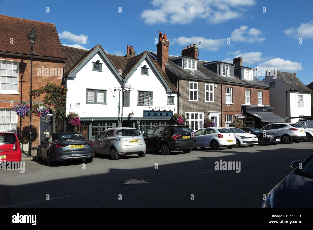 High Street, Amersham, Buckinghamshire Stock Photo