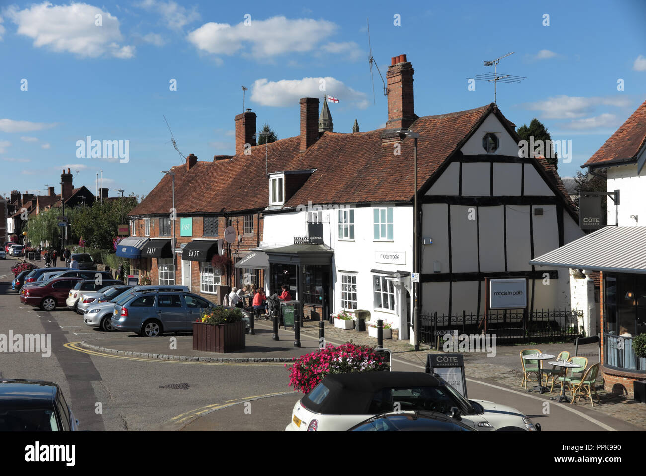 The Broadway, Amersham, Buckinghamshire - Stock Image