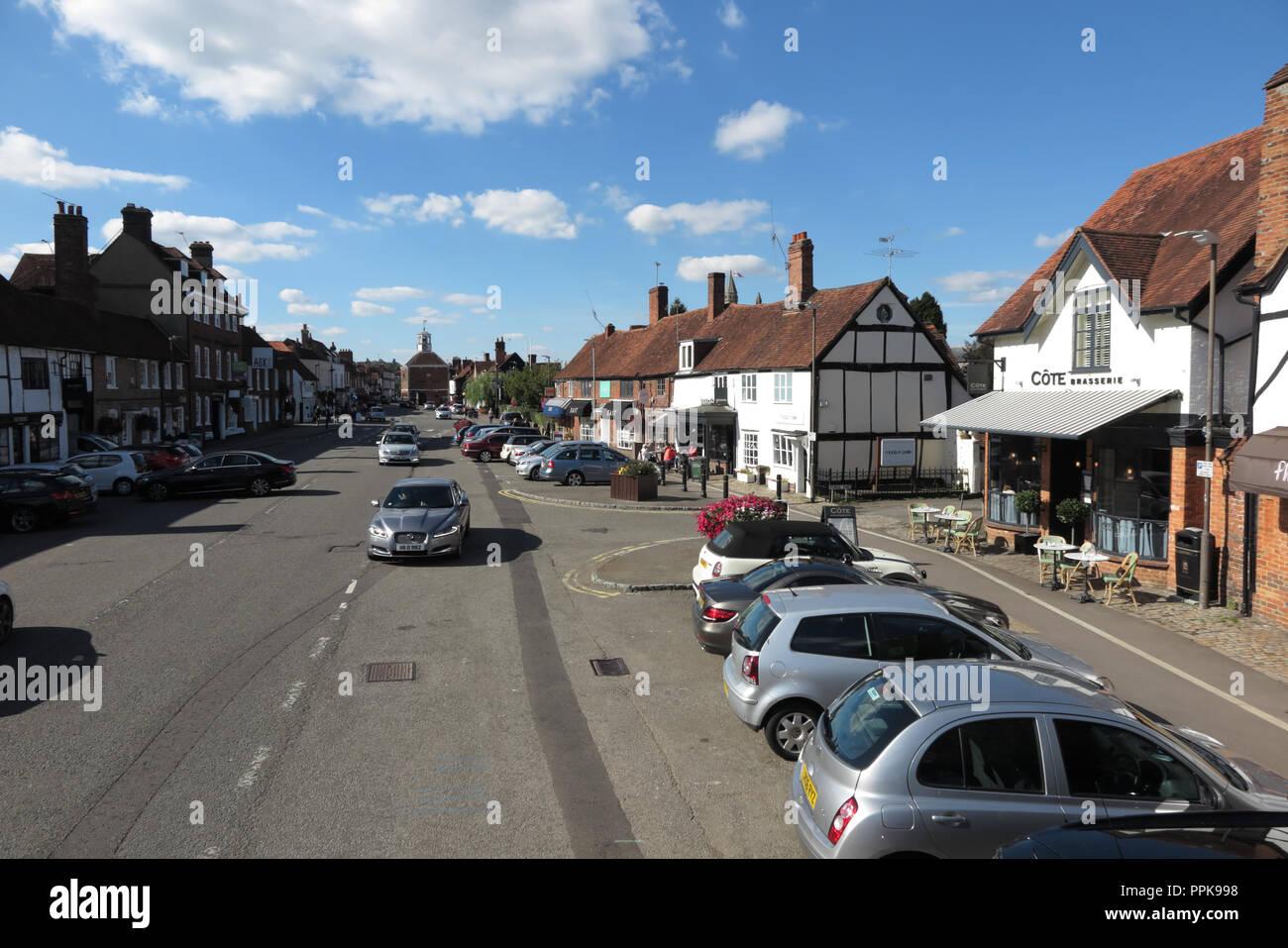 The Broadway, Amersham, Buckinghamshire - Stock Image