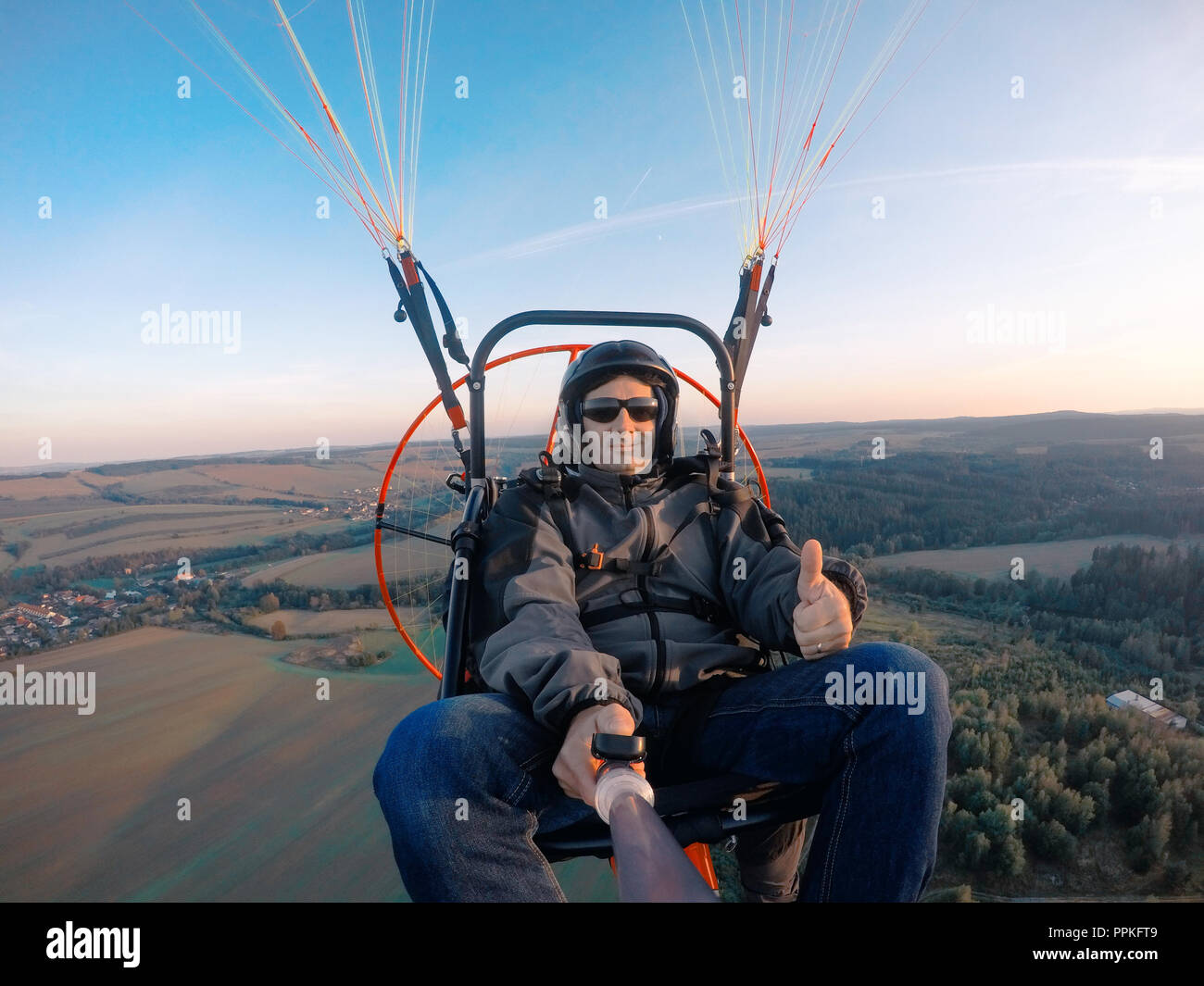 Paramotor Trike Stock Photos & Paramotor Trike Stock Images