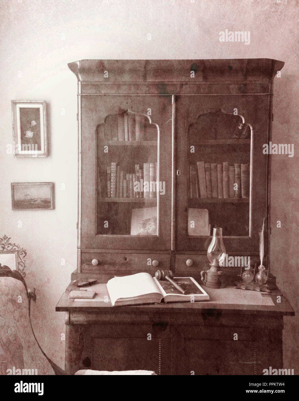 Wooden Furniture At Point Pinos Lighthouse On Public Display ...