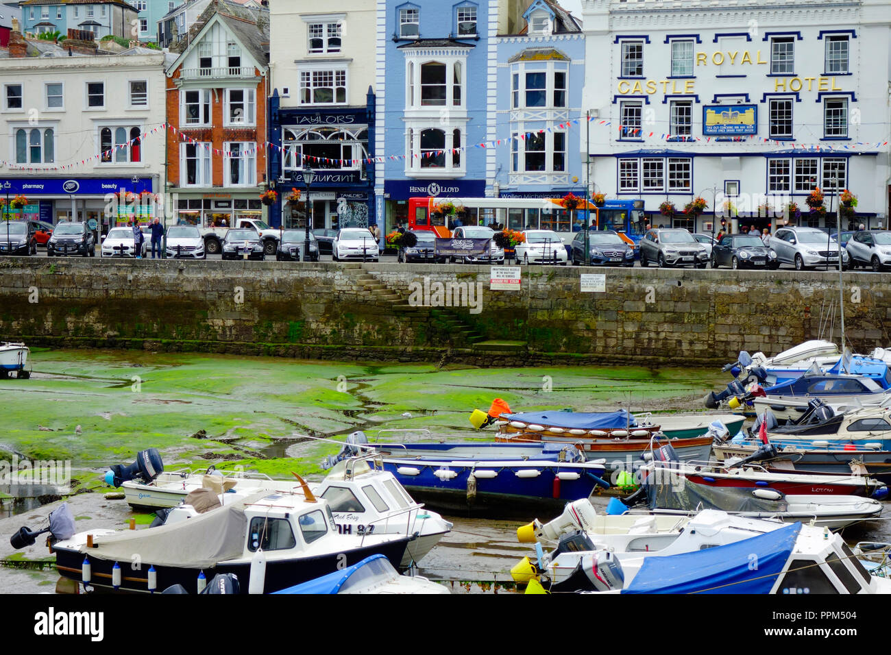 The Inner Harbour 'The Float' at Dartmouth, South Hams, Devon, England - Stock Image