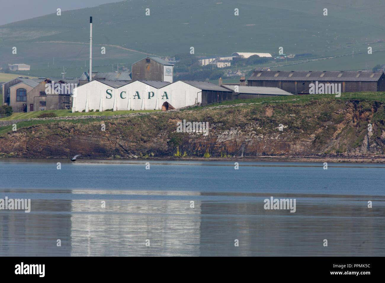 Scapa Destillerie - Stock Image