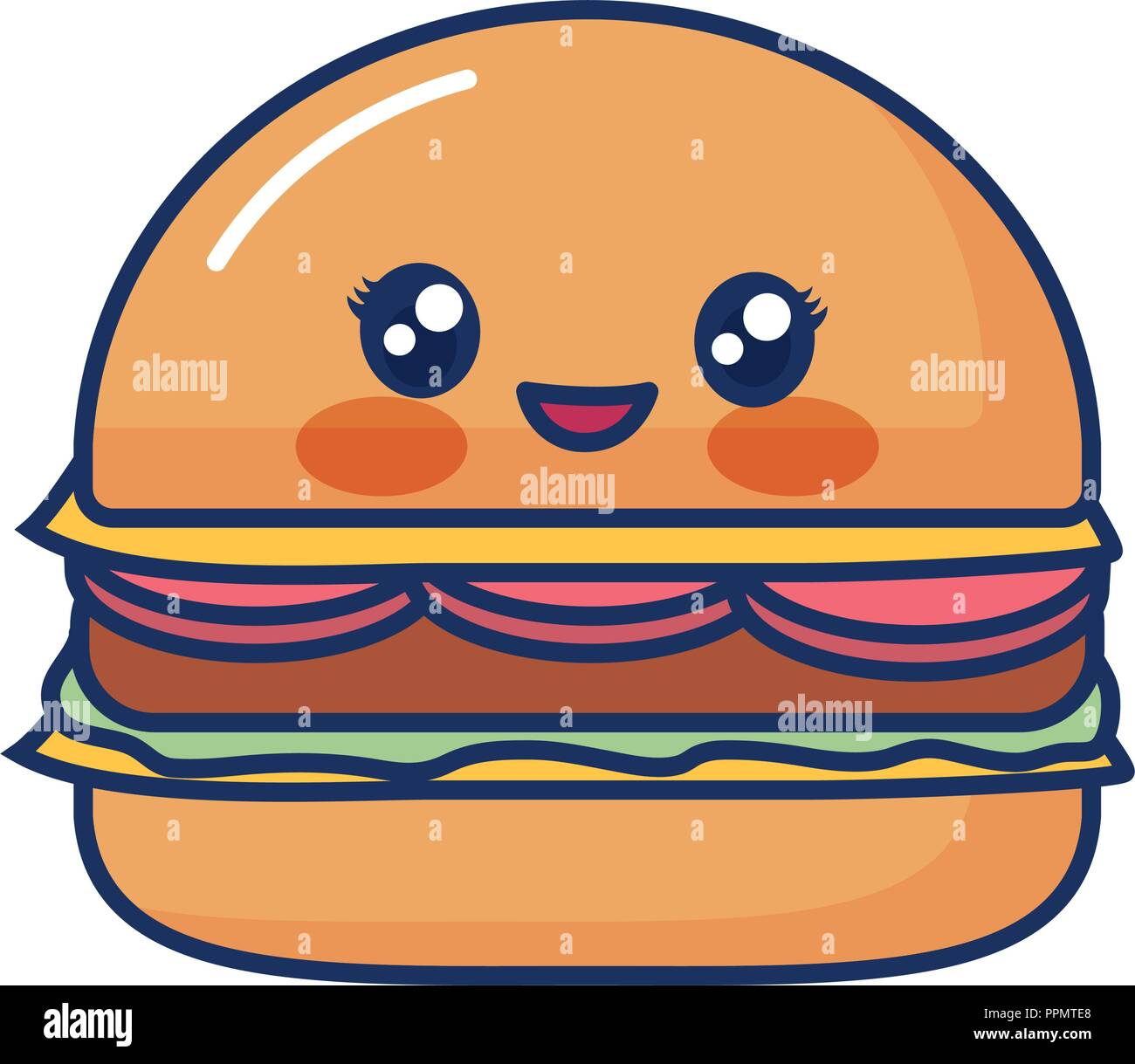 Hamburger Cute Face High Resolution Stock Photography And Images Alamy