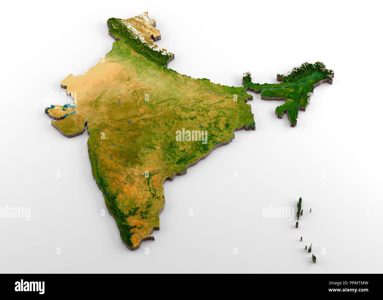 India Map 3d Stock Photos & India Map 3d Stock Images - Alamy on