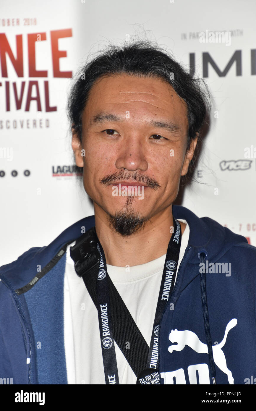 London, UK. 26th September, 2018. Director of Fog Forest attends the Raindance Opening Gala 2018 held at Vue West End, Leicester Square on September 26, 2018 in London, England. Credit: Picture Capital/Alamy Live News Stock Photo