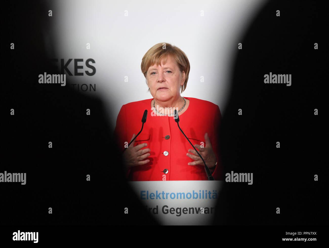 2a537ca57fb3 berlin-germany-27-september-2018 -berlin-chancellor-angela-merkel-cdu-speaks-at-the-symposium-10-years-of-electromobility-future- becomes-present-on-the-euref ...