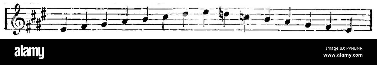92a54fe1379114 Bolesław Raczyński - Teorya muzyki page 46 10. - Stock Image