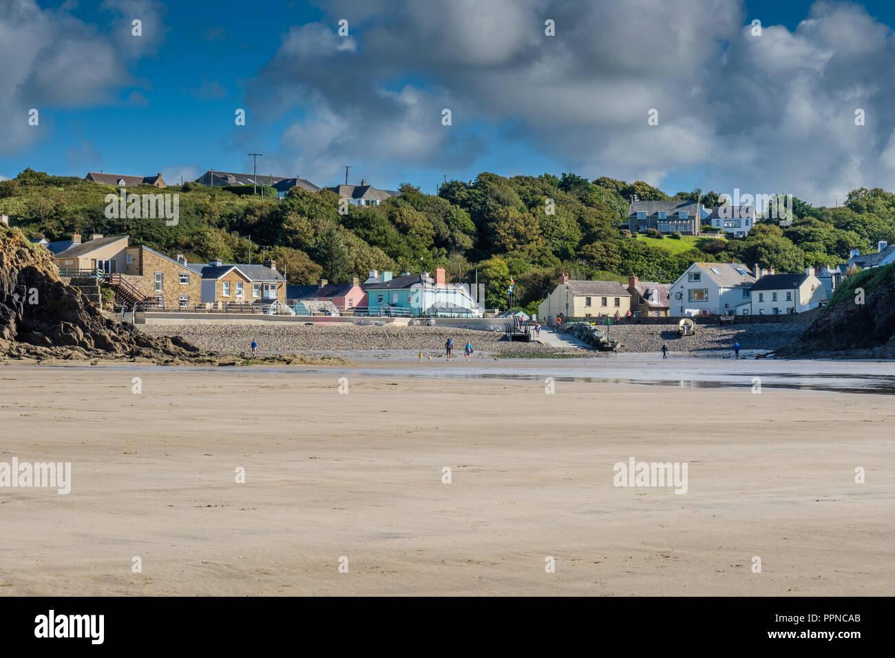 Little Haven, Pembrokeshire, Wales - Stock Image