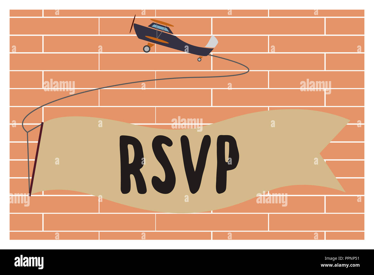 Handwriting Text Writing Rsvp Concept Meaning Please Reply To An