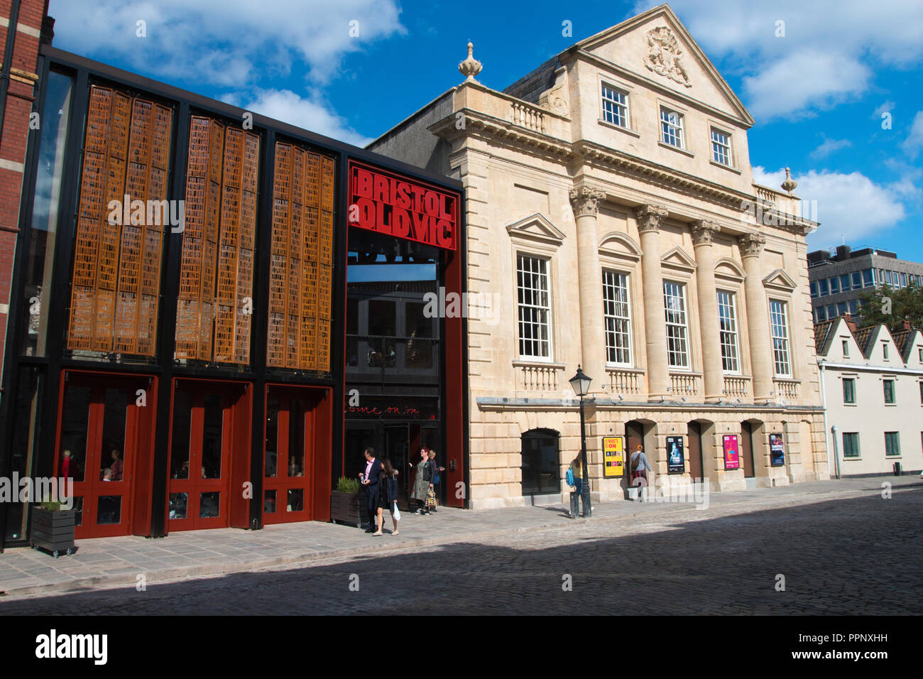 BRISTOL OLD VIC: New Foyer - Stock Image