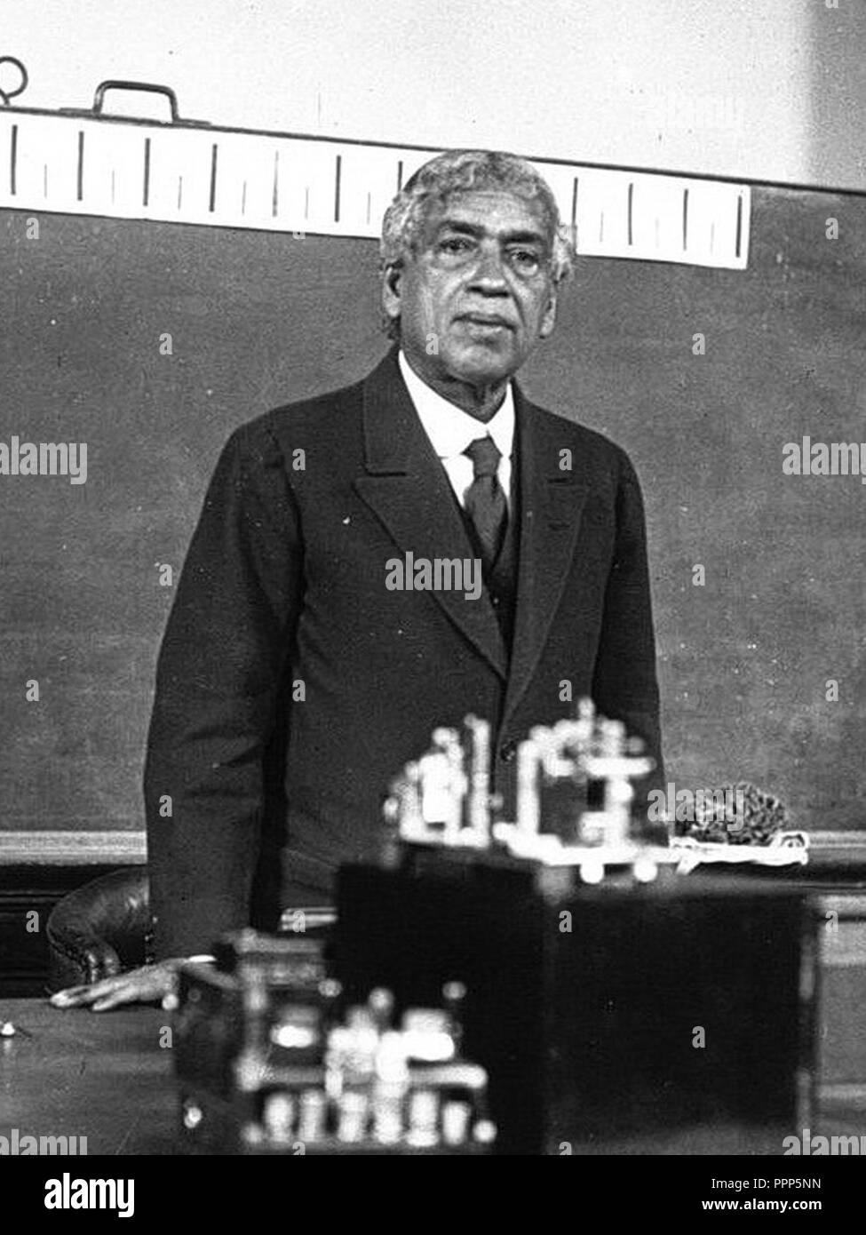 Jagadish Chandra Bose 1926. - Stock Image