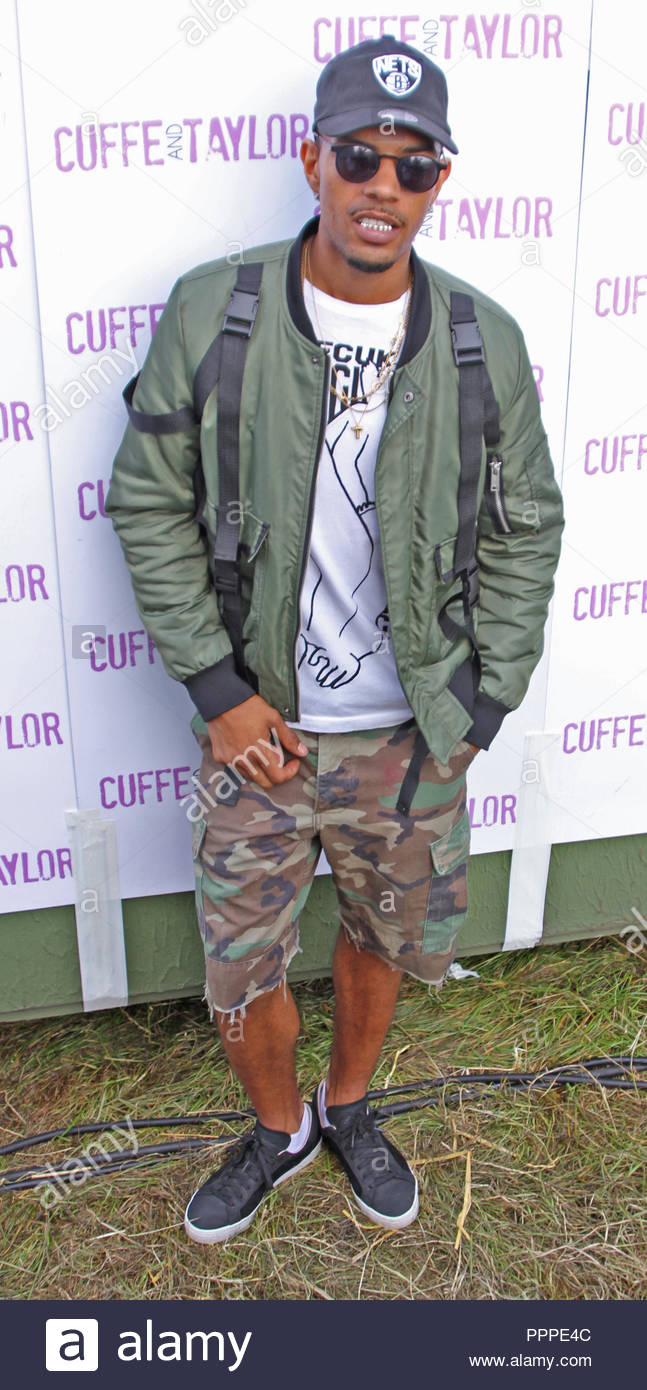 Fazer backstage at Total Access Live, Betley Court Farm, Betley, Cheshire on saturday 13 august 2016 Stock Photo