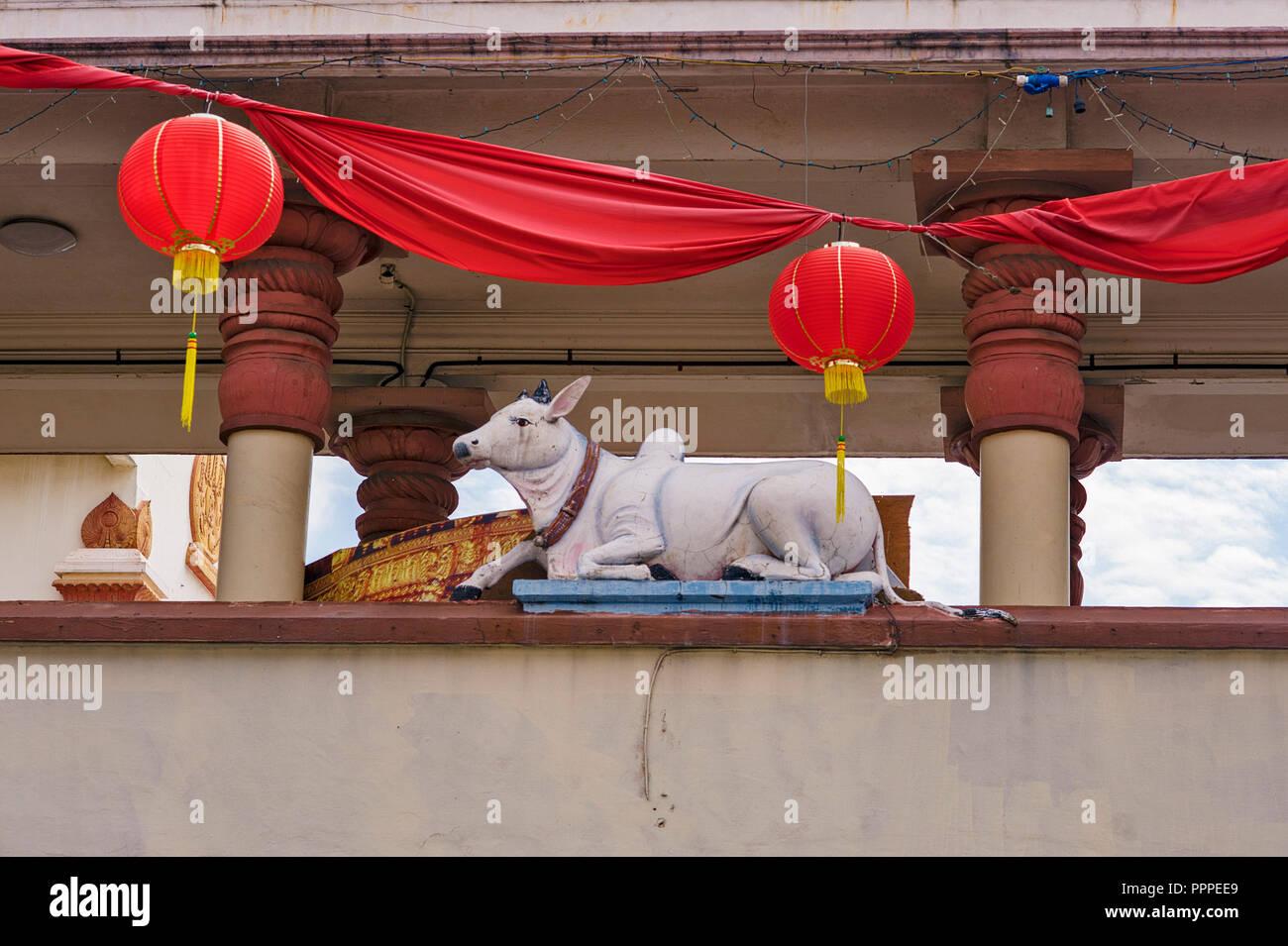 Singapore, Sri Mariamman Temple - Stock Image