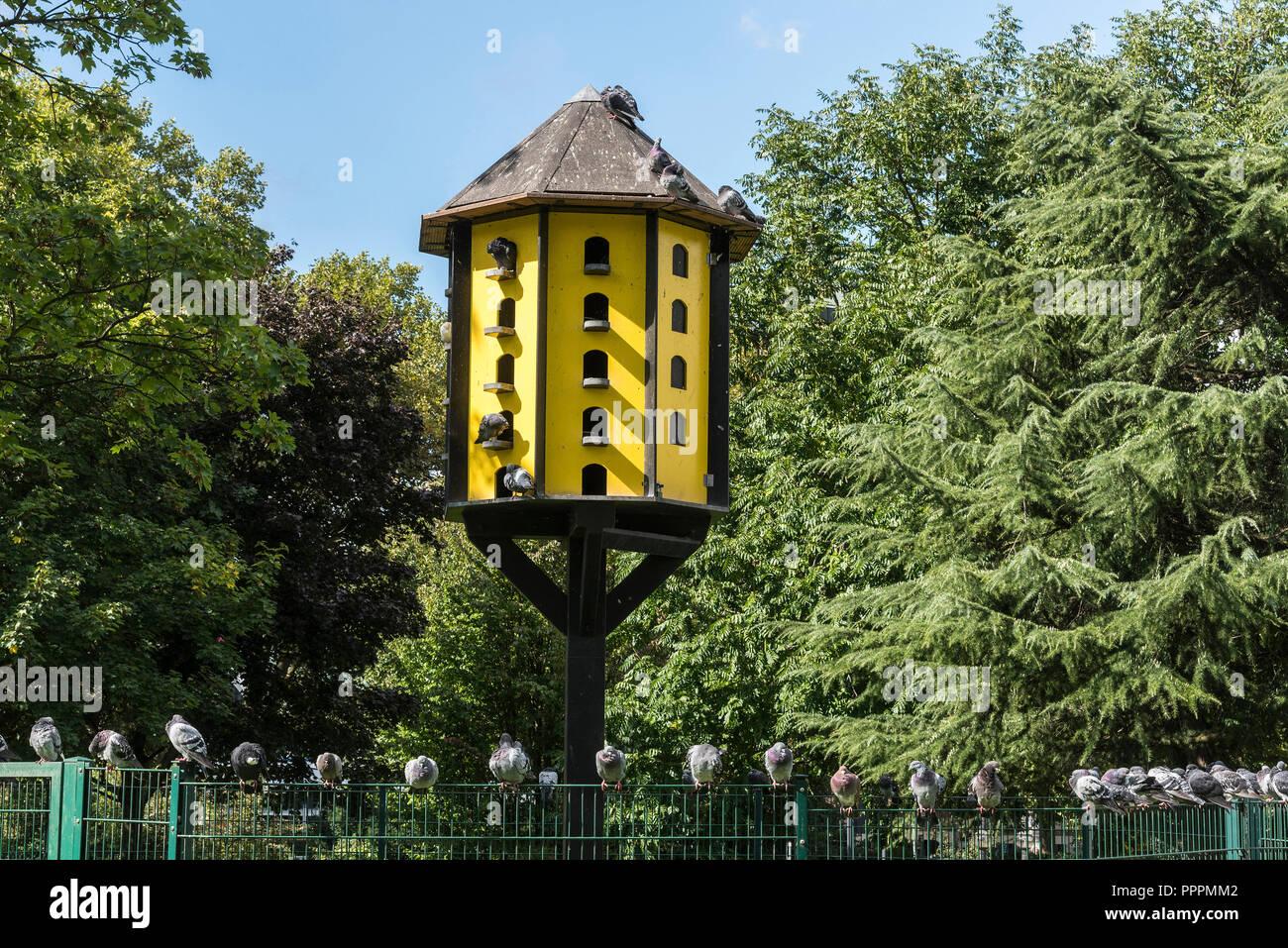Dovecote stadtgarten dortmund ruhr district north rhine westphalia germany stock photo - Stadtgarten dortmund ...