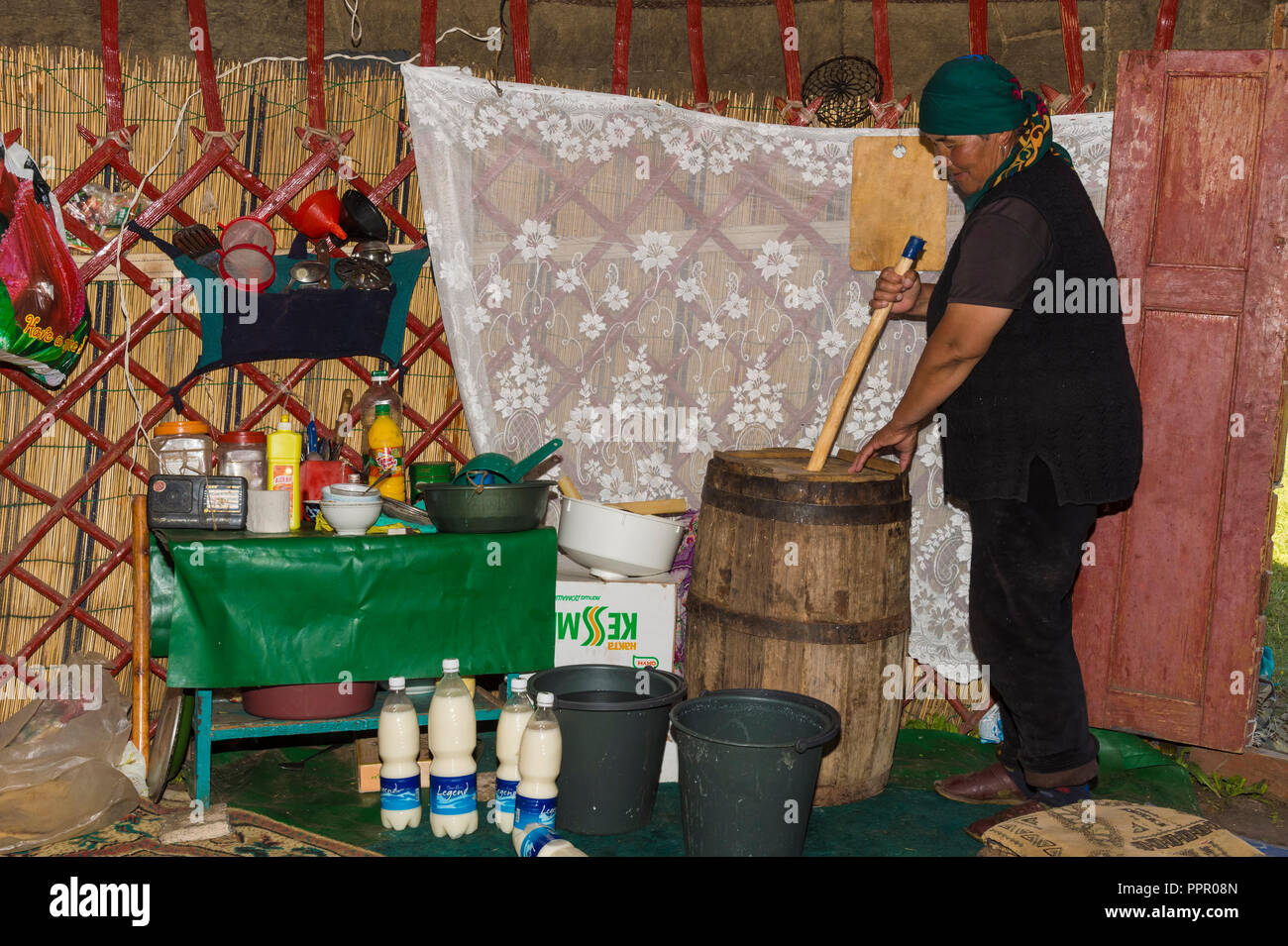 Kyrgyz Woman Stock Photos & Kyrgyz Woman Stock Images - Alamy