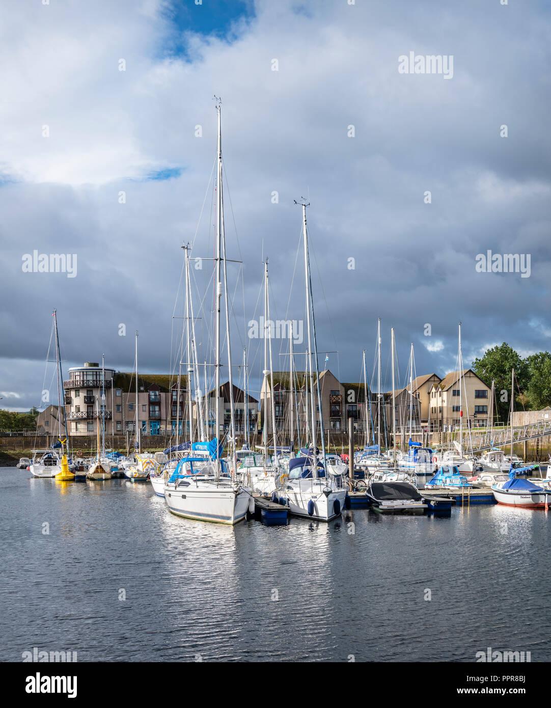 Nairn Harbour, Highlands, Scotland - Stock Image