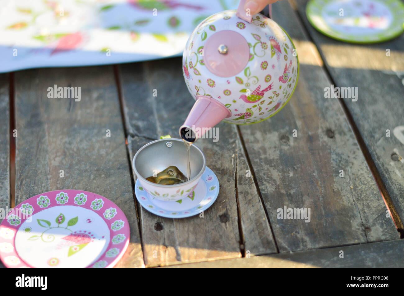 Tea Party - Stock Image