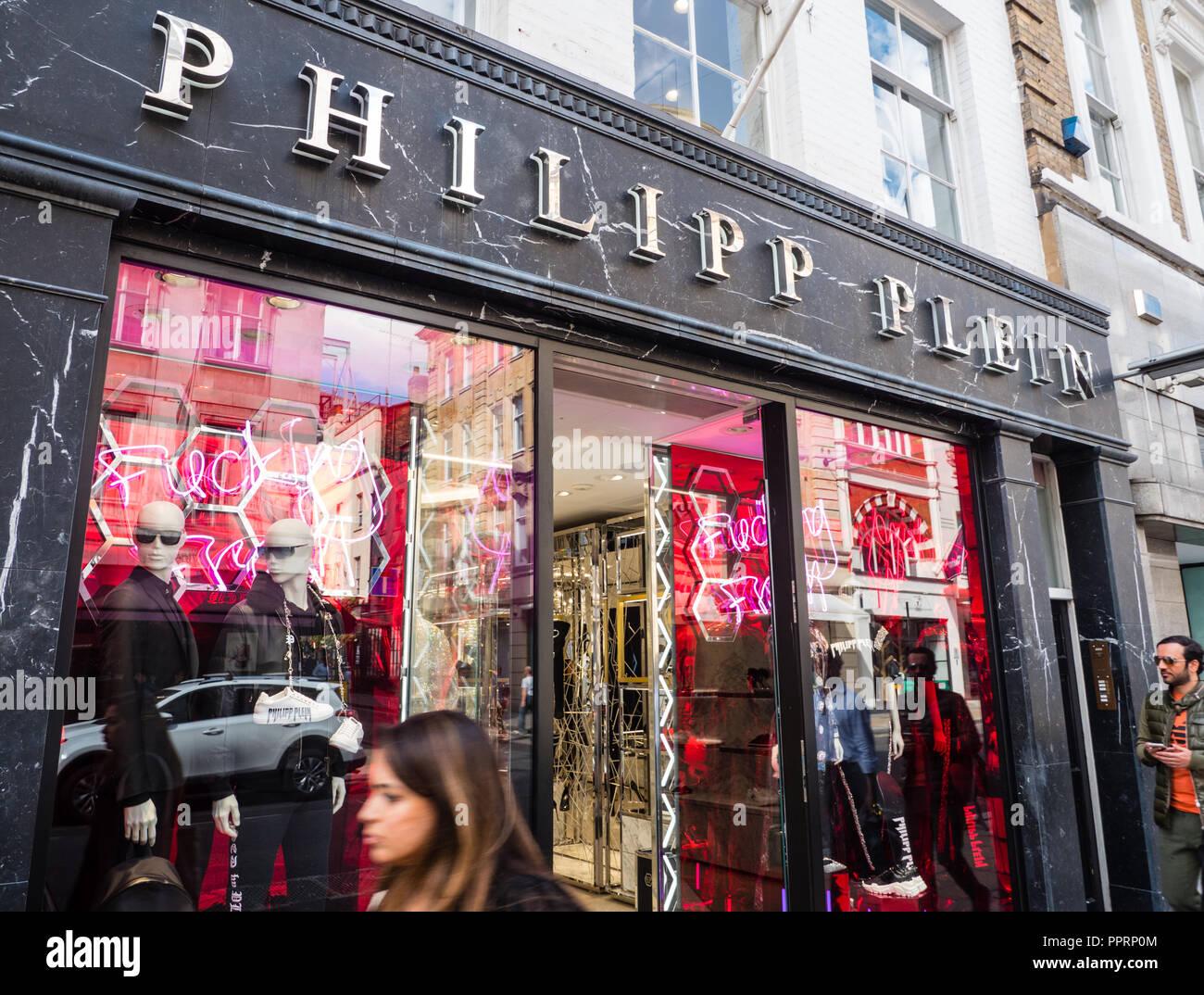 b59d29553fa Philipp Plein, Store, New Bond Street, London, England, UK, GB Stock ...