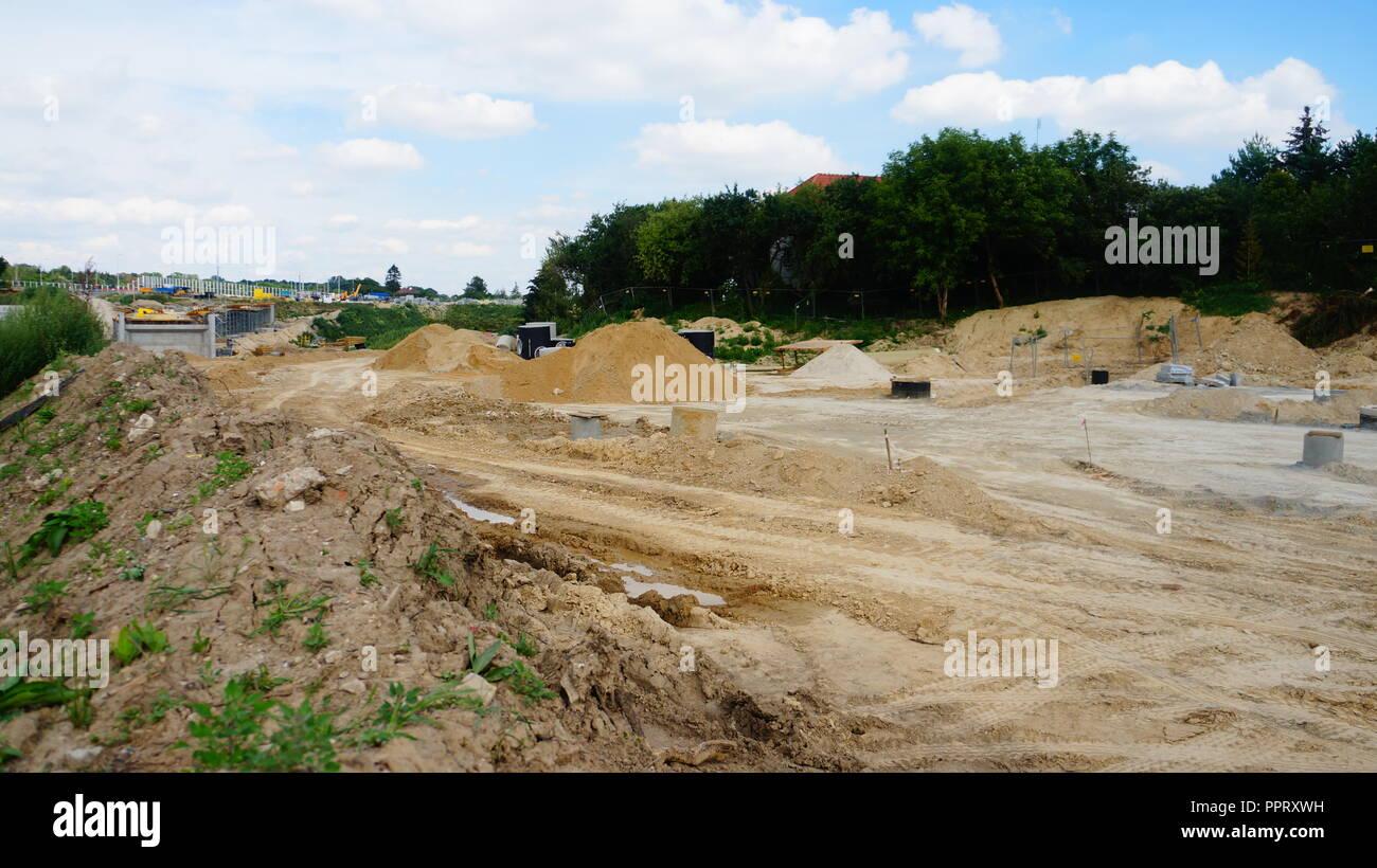 Baustellenbilder - Stock Image