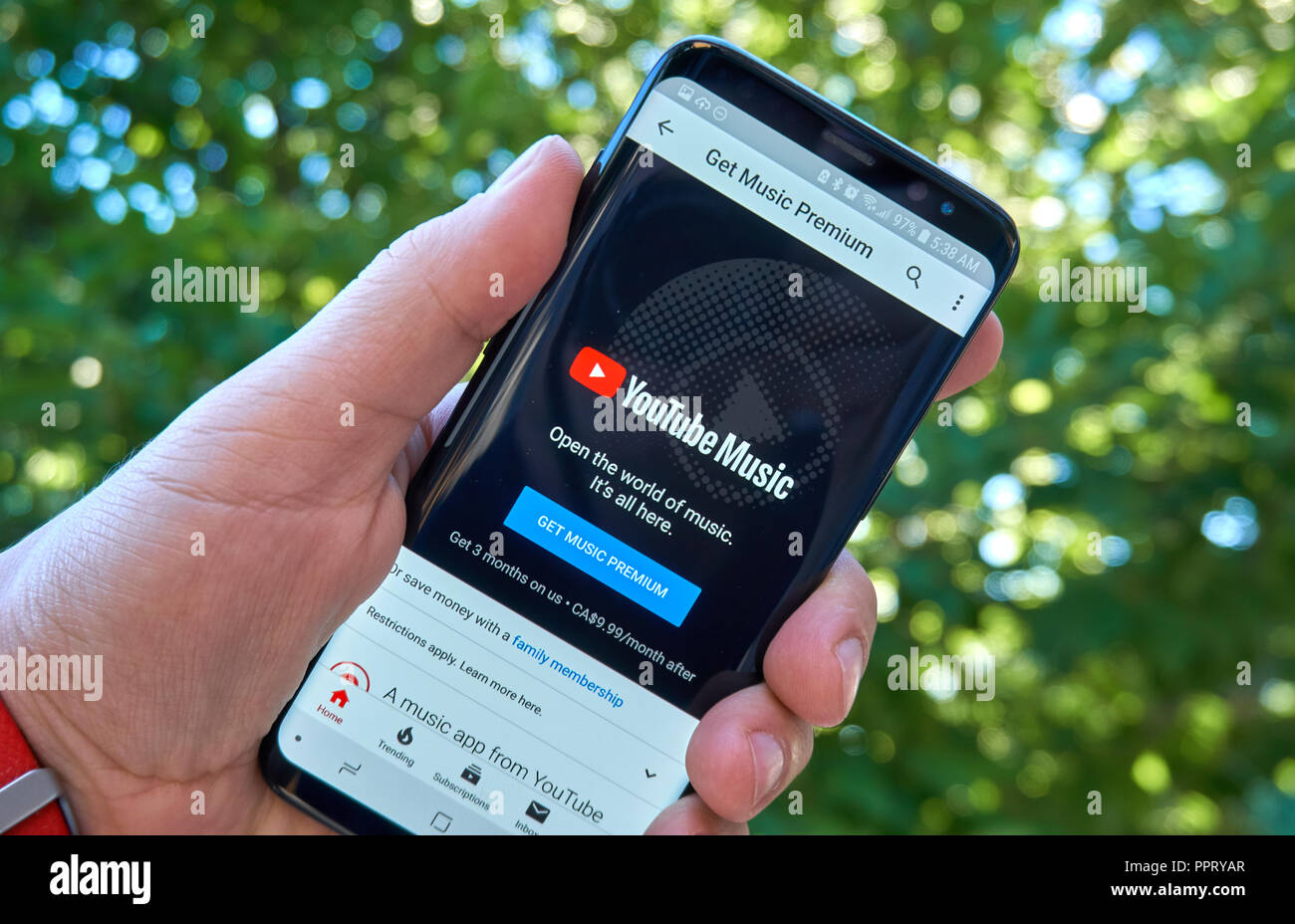 youtube premium canada