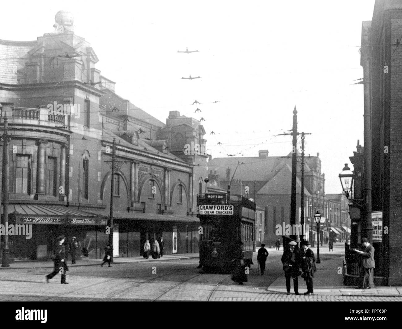 Grand Theatre King Street, Oldham early 1900's - Stock Image