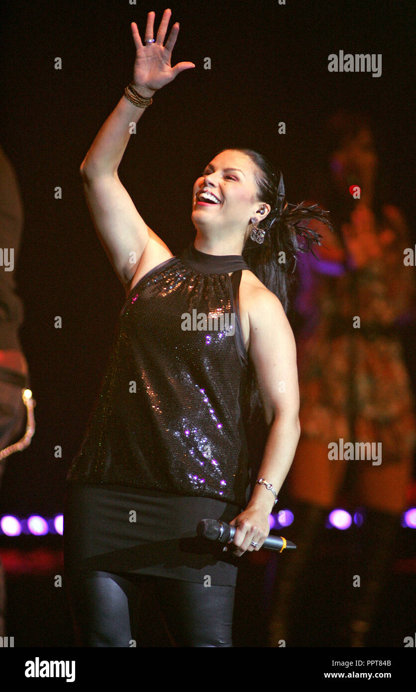 Olga Tanon Performs In Concert At The Seminole Hard Rock Hotel And Casino Hollywood Florida On October 18 2009
