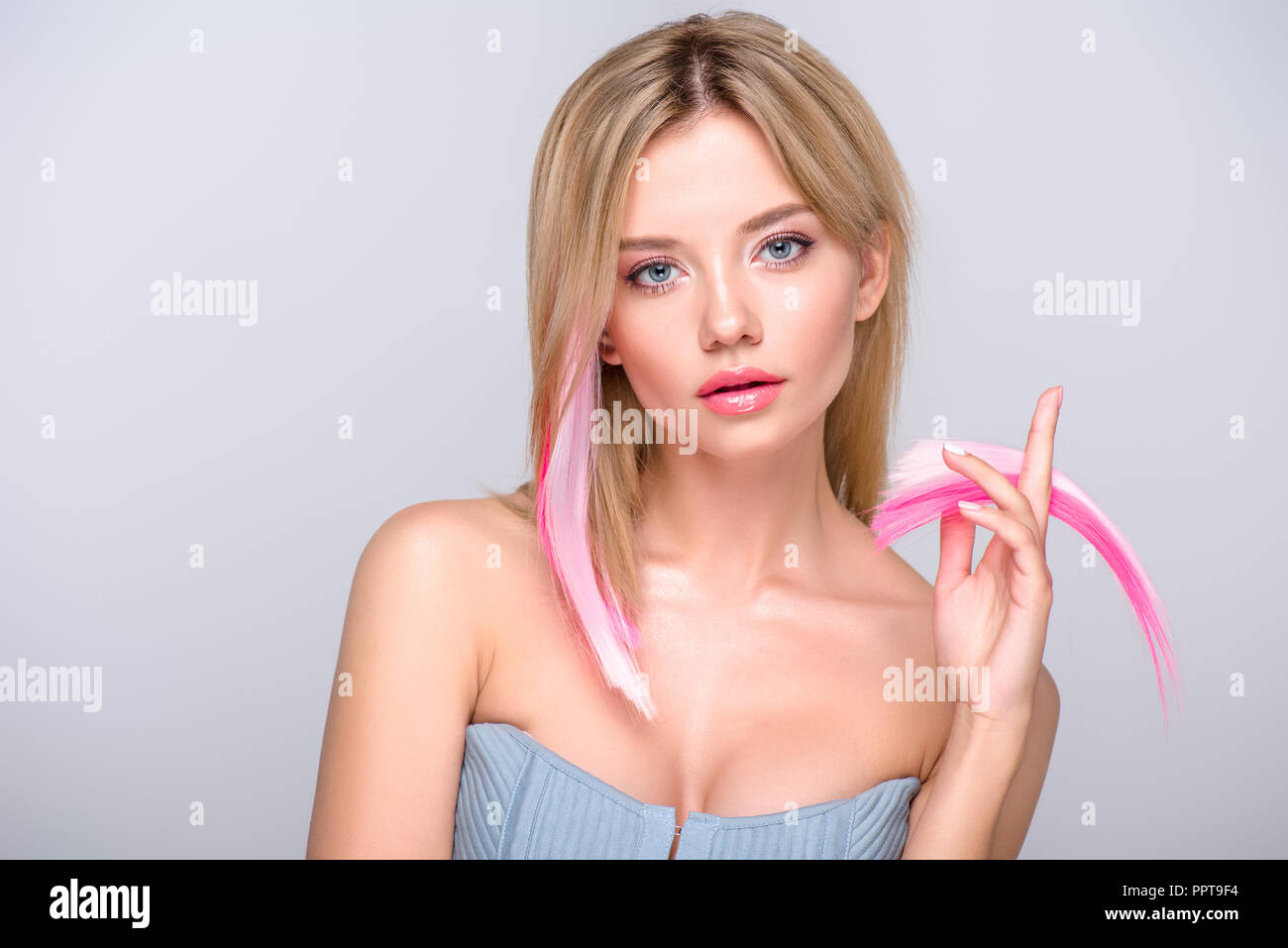 Hair Extensions Cut Stock Photos Hair Extensions Cut Stock Images