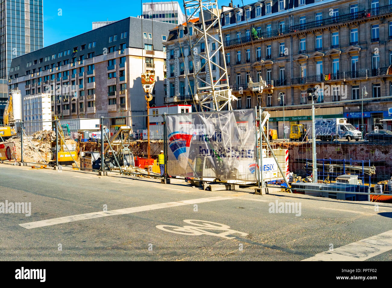 Building Site - Stock Image