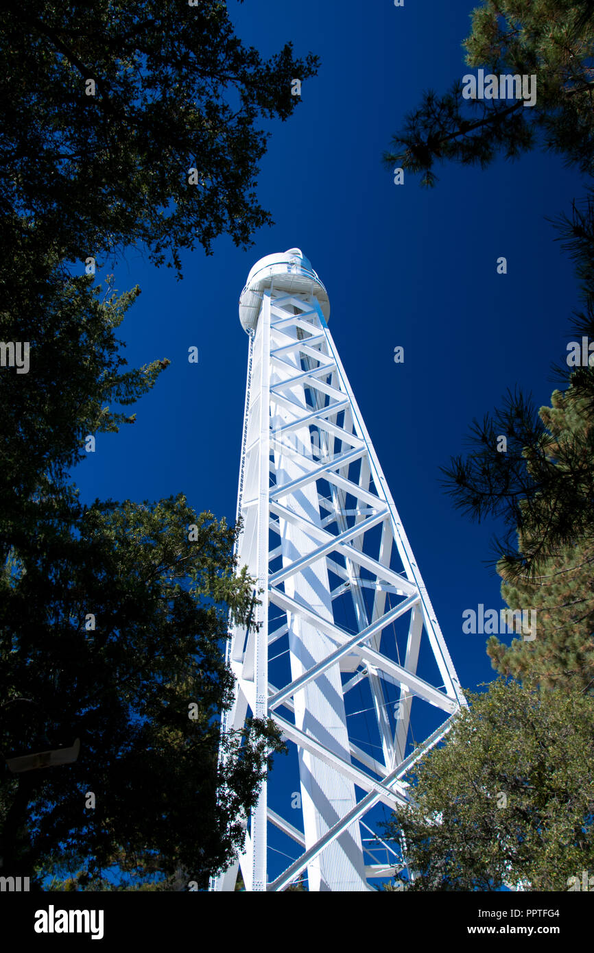 The 150 foot solar telescope at the historic Mount Wilson