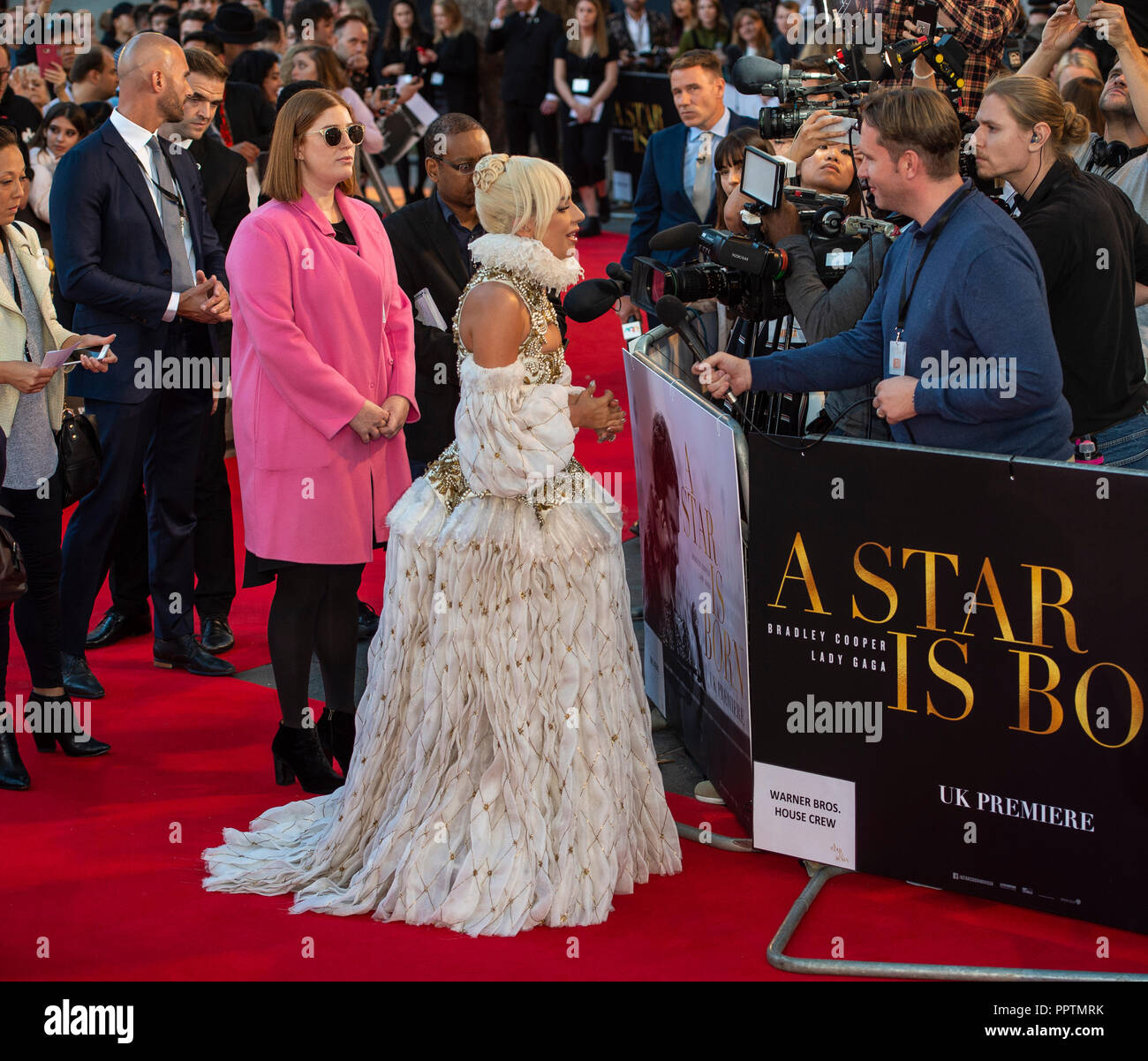 6db0c5c7919132 A Star Is Born  - UK Premiere - VIP Arrivals Stock Photo  220590039 ...