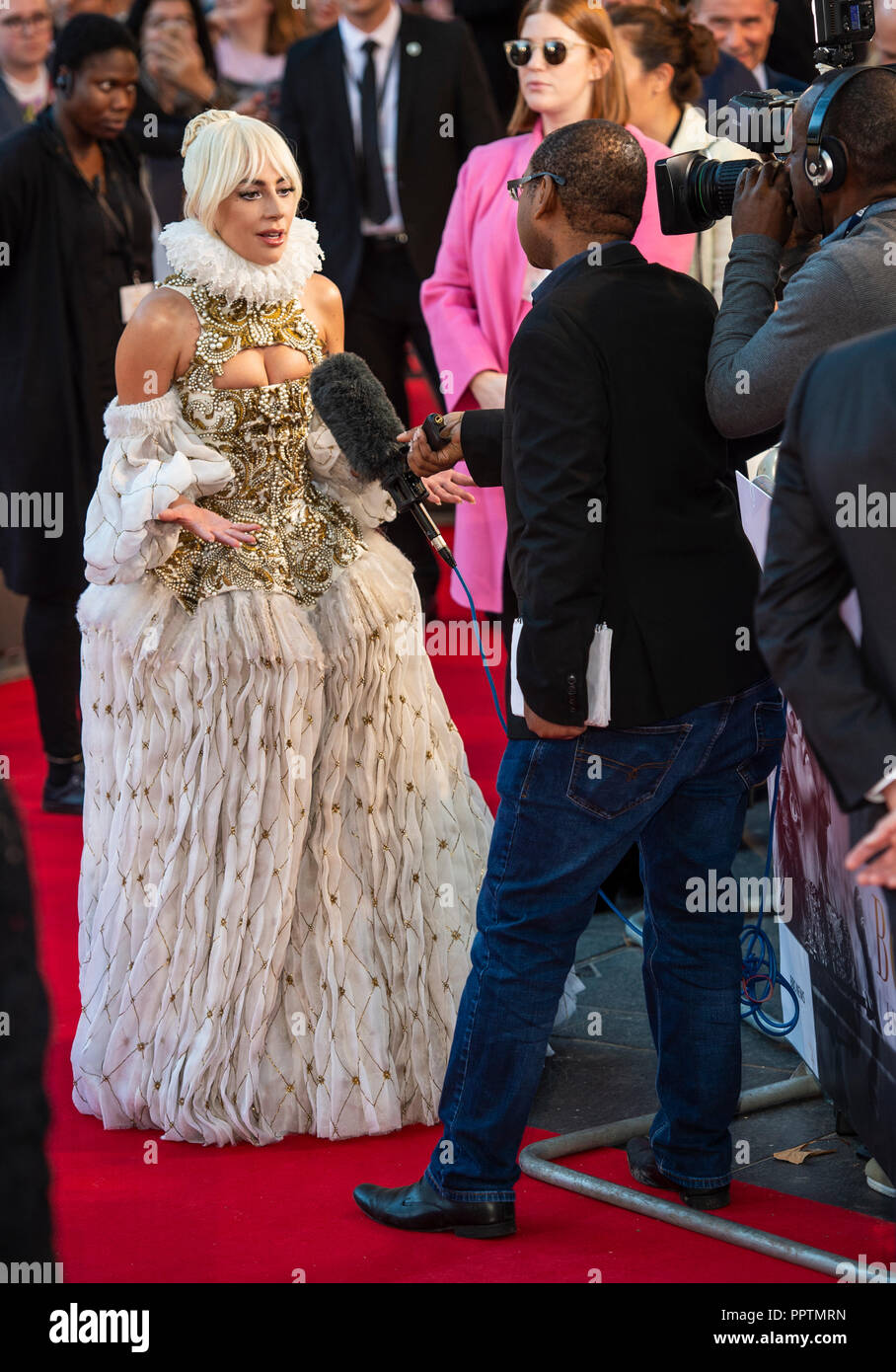 2728b7d1064573 A Star Is Born  - UK Premiere - VIP Arrivals Stock Photo  220590041 ...