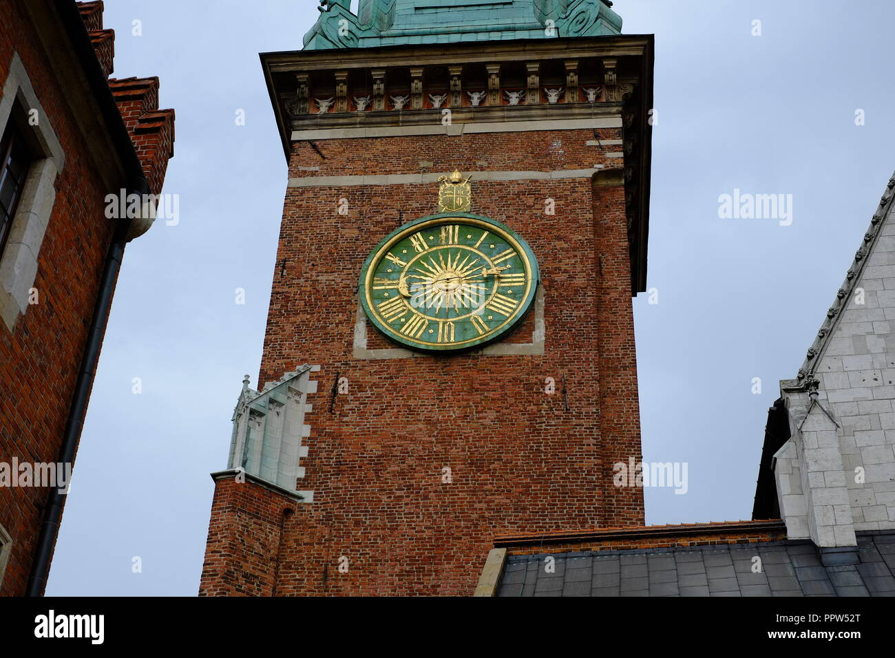 Krakow in Poland, a city for tourism and tourists – Krakau in Polen - Stock Image