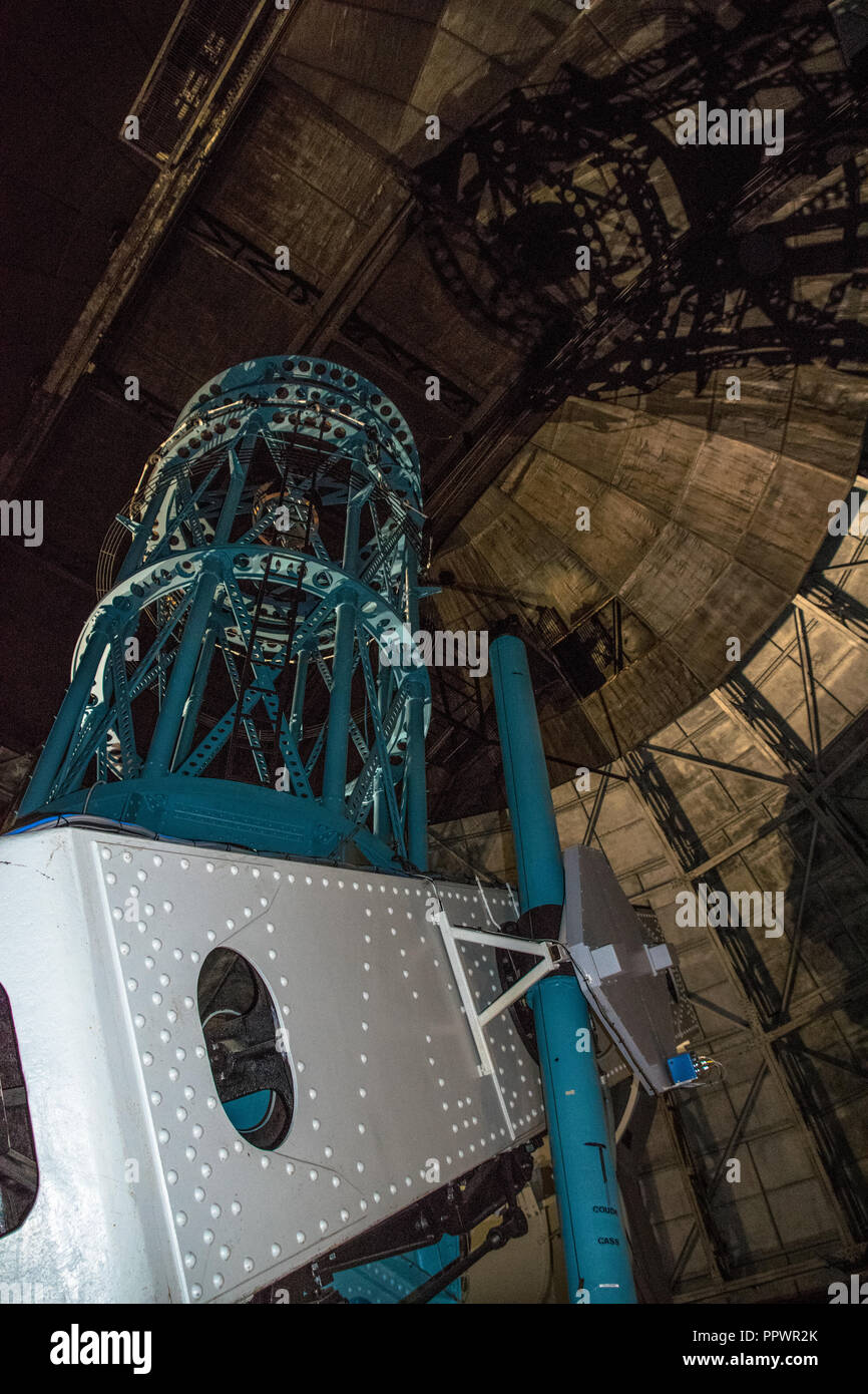 The 100 inch reflective telescope at the Mount Wilson