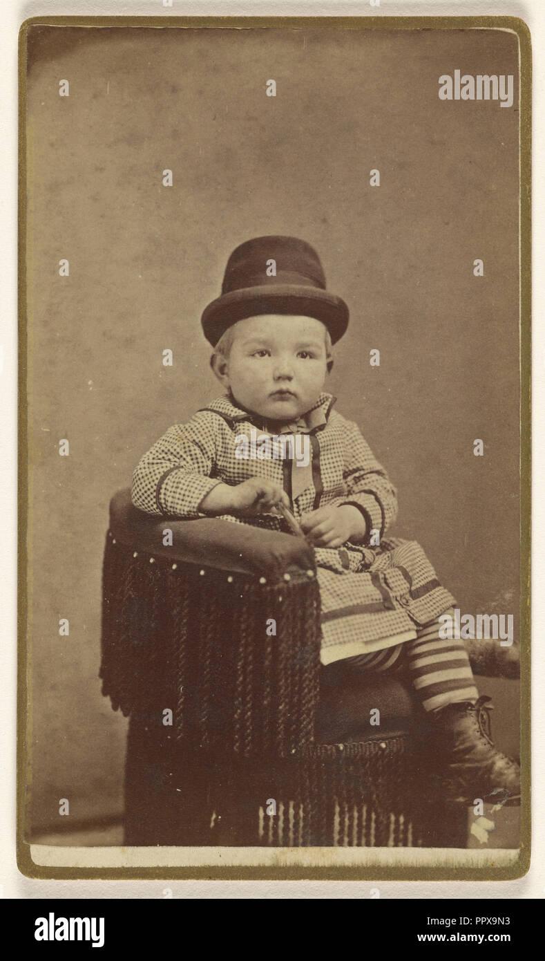 Robert Bickle, Staunton, Va; B.A. Blakemore; 1870s; Albumen silver print - Stock Image