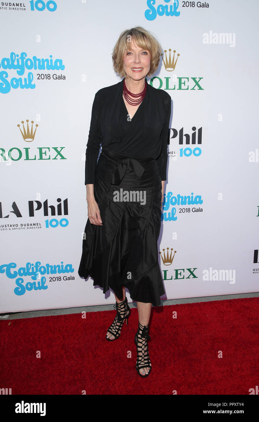 Los Angeles, Ca, USA. 27th Sep, 2018. Susan Blakely, at Los Angeles Philharmonic Opening Night at The Walt Disney Concert Hall in Los Angeles California on September 27, 2018. Credit: Faye Sadou/Media Punch/Alamy Live News - Stock Image