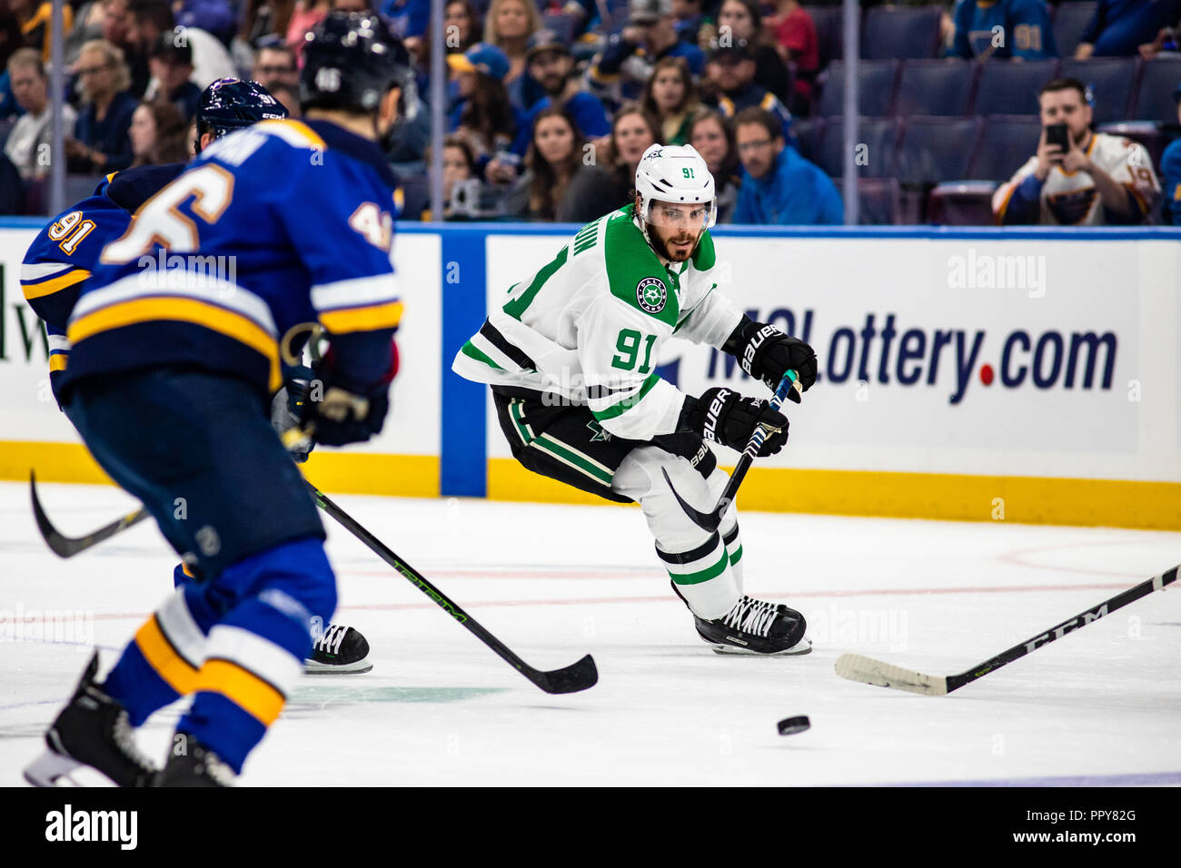 finest selection 53b18 659b4 St. Louis, USA. 28th Sept, 2018. NHL Pre-season: Dallas ...