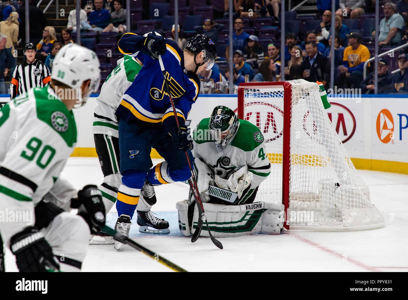 finest selection de63d 5627c St. Louis, USA. 28th Sept, 2018. NHL Pre-season: Dallas ...