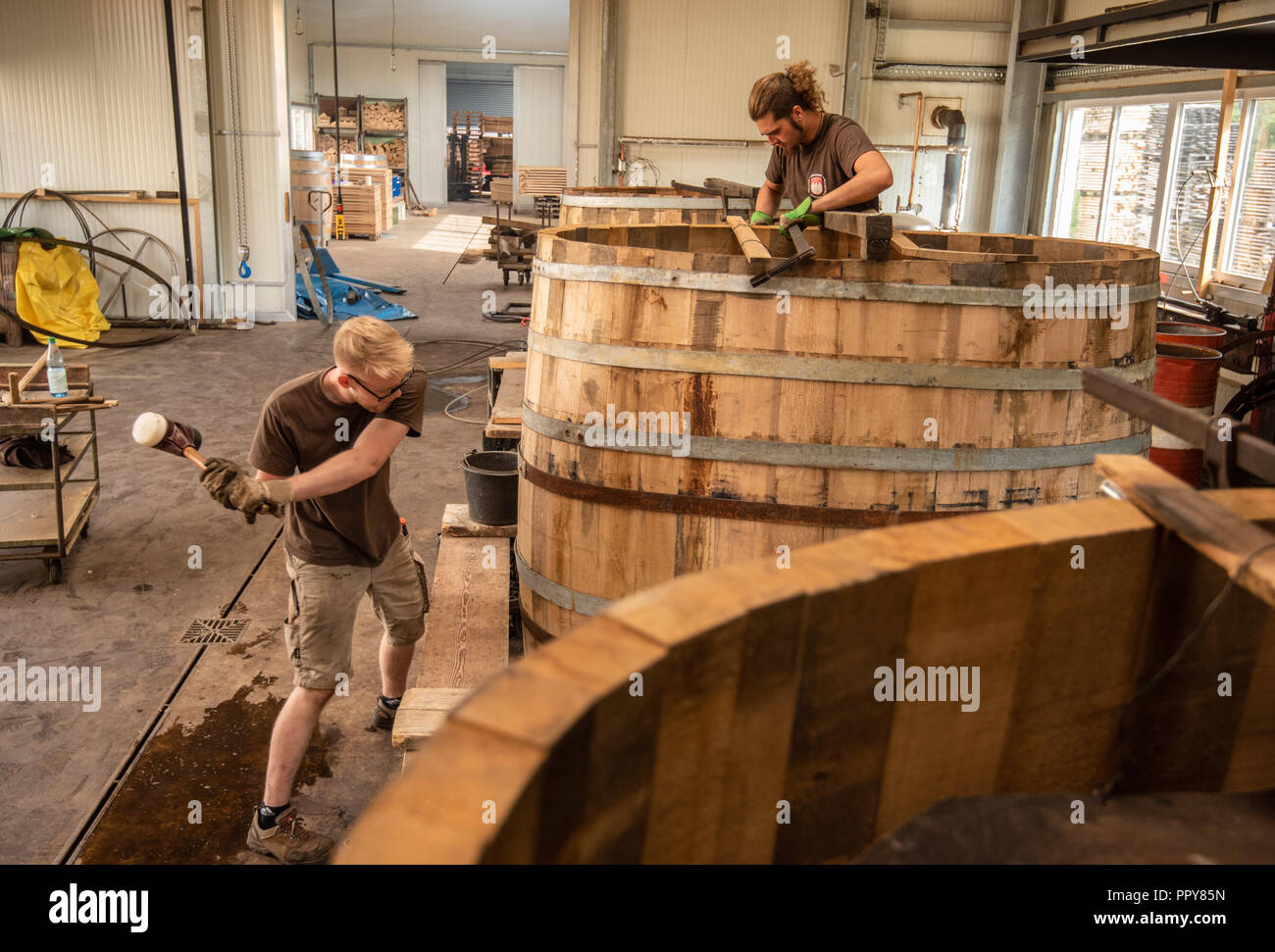 Barrel Hoops Stock Photos Barrel Hoops Stock Images Alamy
