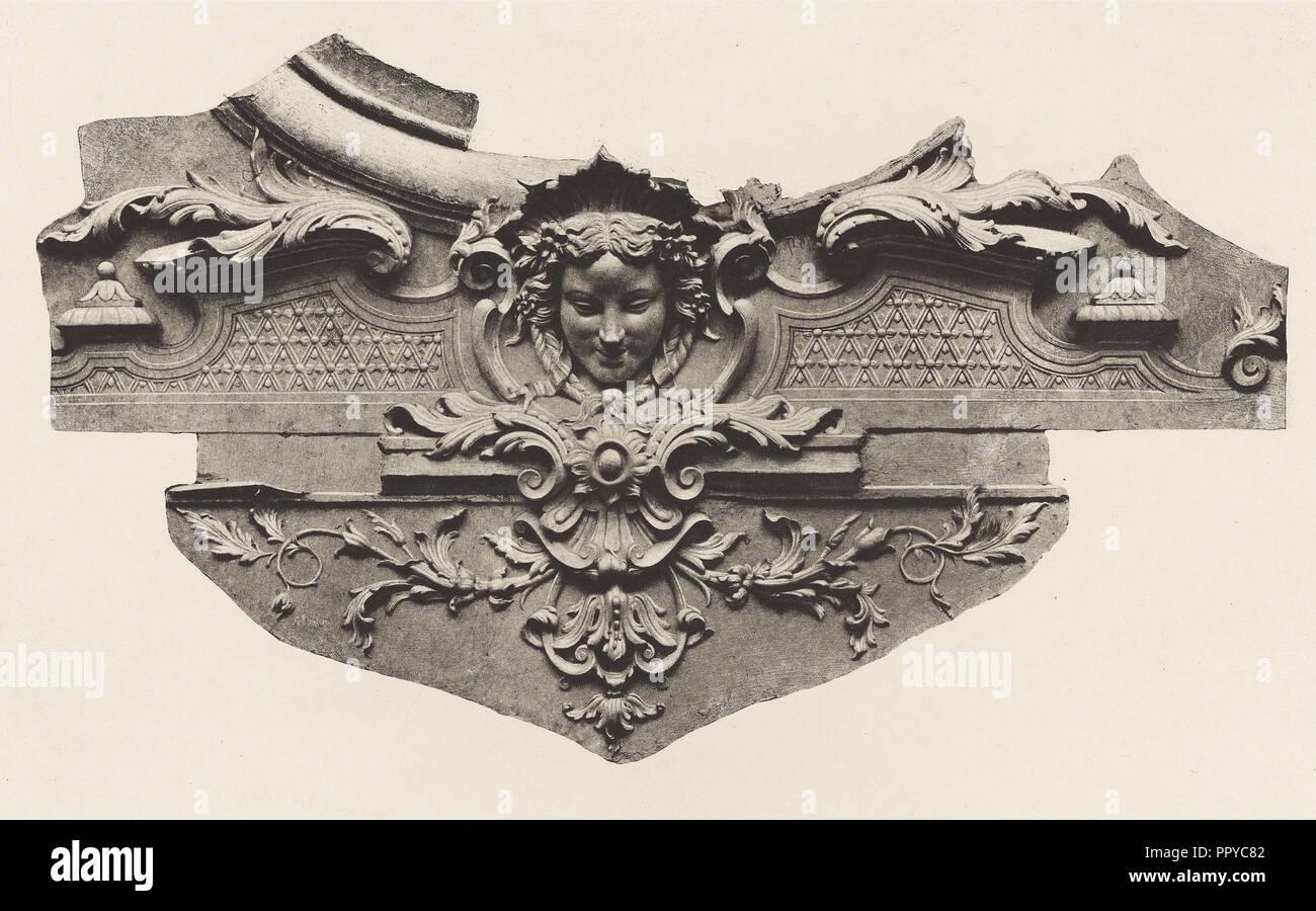 Ministère d'État, Salon d'Angle, Édouard Baldus, French, born Germany, 1813 - 1889, Paris, France; about 1868; Heliogravure - Stock Image