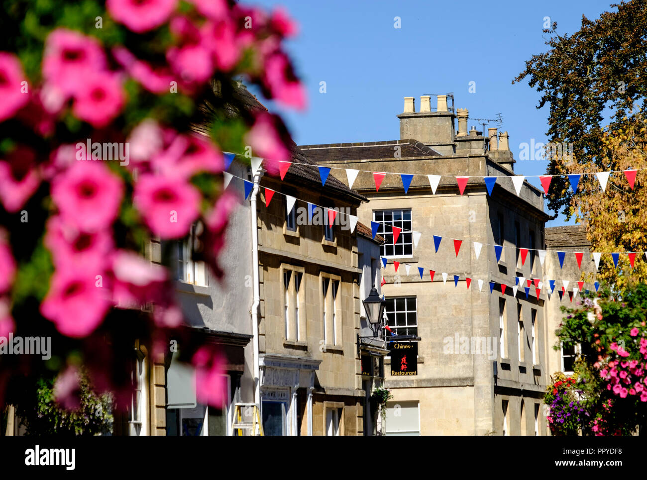 Corsham a small town in wiltshire near chippenham, England UK Stock Photo