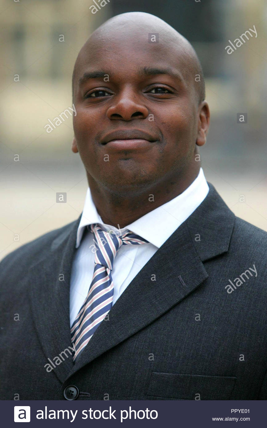 File photo dated 30/3/2007 of Shaun Bailey as Tory members have selected the Windrush descendant and former adviser to David Cameron to fight Sadiq Khan in the next London mayoral election. - Stock Image