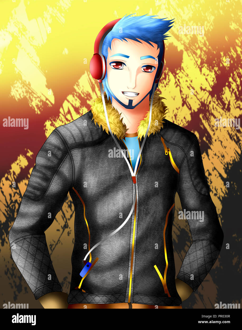 Anime Boy High Resolution Stock Photography And Images Alamy
