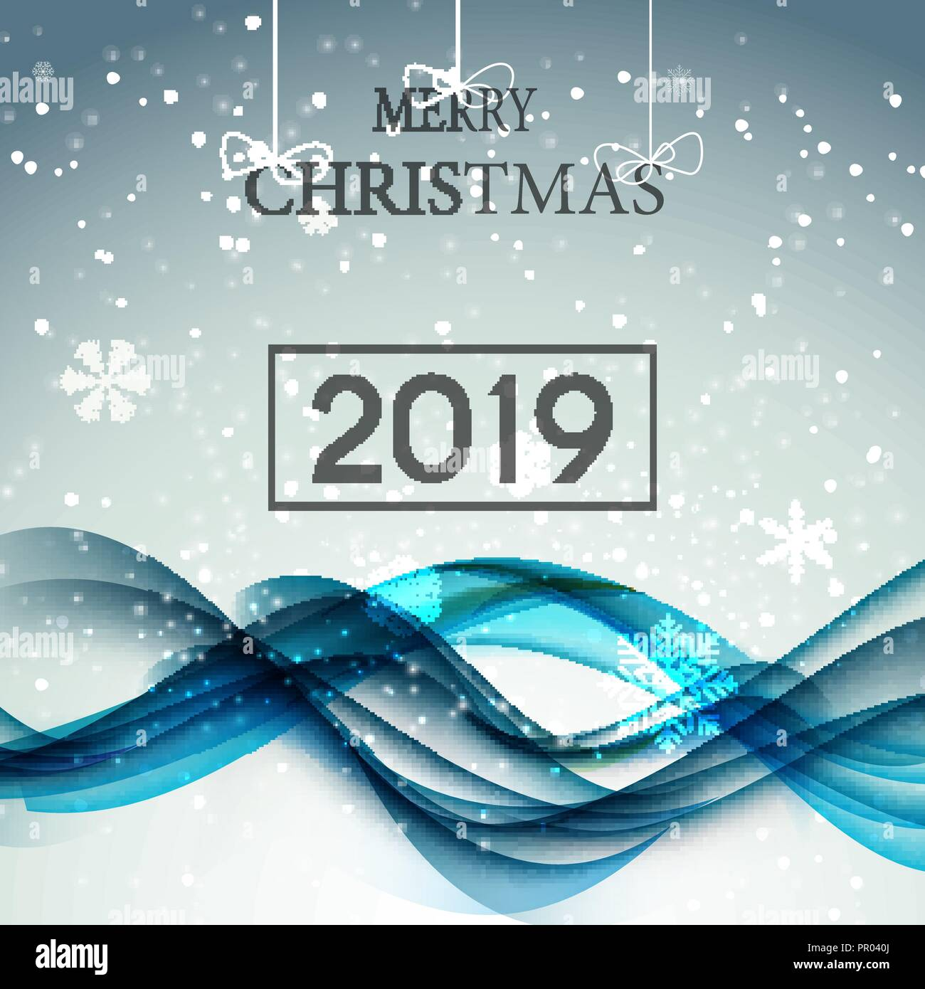 Christmas Background Vector.2019 Happy New Year And Marry Christmas Background Vector