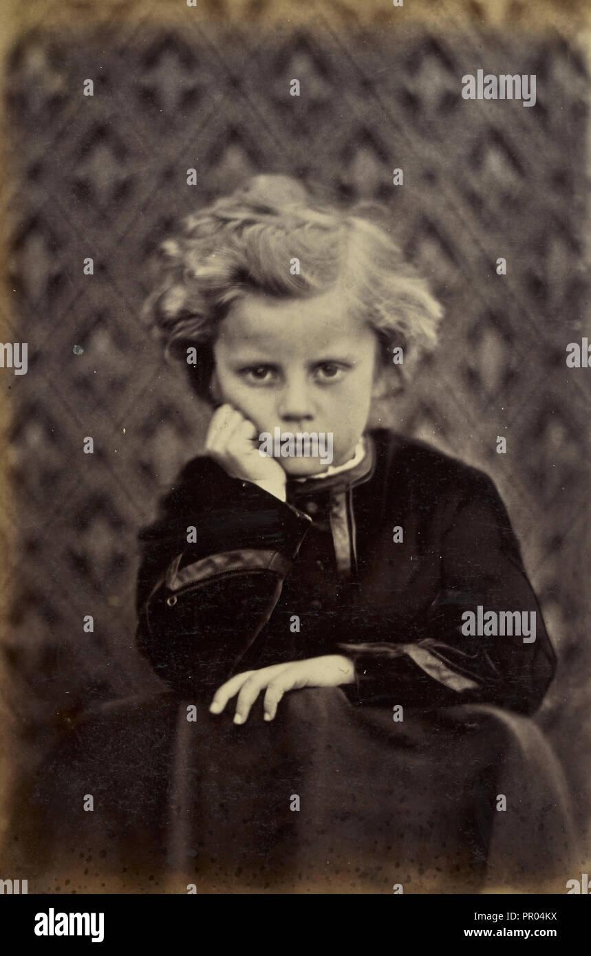 Evan Charteris; Ronald Ruthven Leslie-Melville, Scottish,1835 - 1906, England; 1860s; Albumen silver print - Stock Image