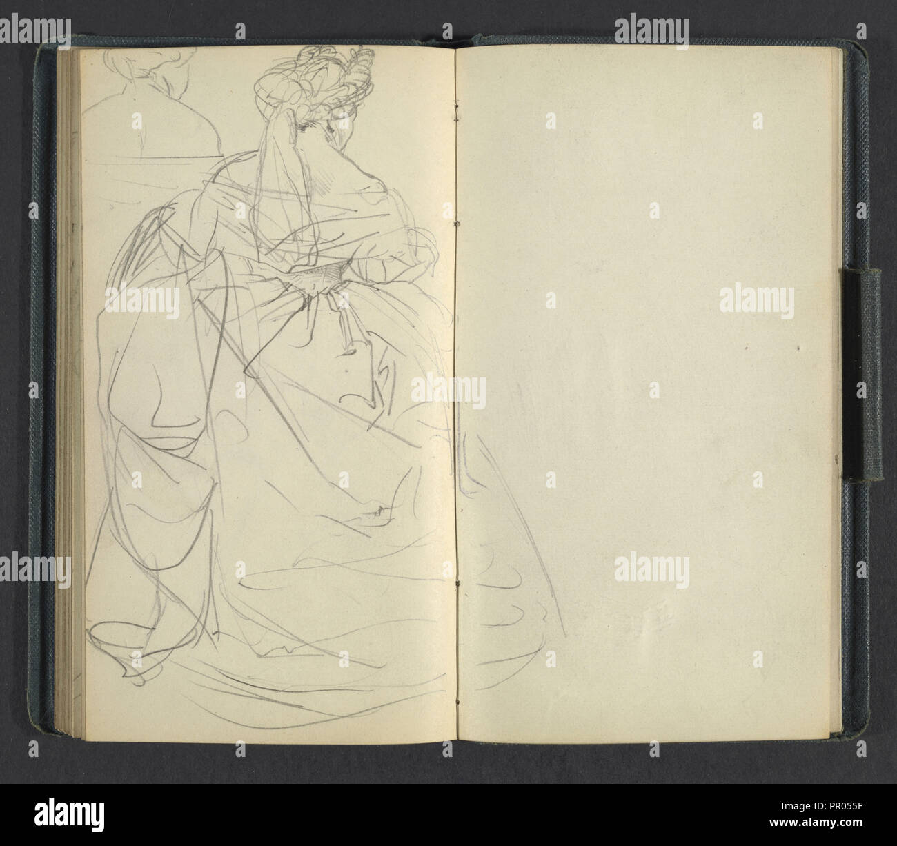Sketchbook of adolph menzel menzel adolph 1815 1905 pencil on